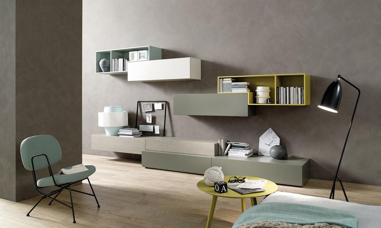 Emejing Pensili Soggiorno Contemporary - Idee Arredamento Casa ...