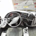 Het dashboard van de VDL Bova Futura Classic van Betuwe Express bus 186