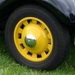 Citroen Traction jantes Pilote jaunes 11BL 1938-1947