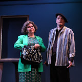 "Susan Katz and Marty O'Connor in ""Degas, C'est Moi"" as part of THE IVES HAVE IT - January/February 2012.  Property of The Schenectady Civic Players Theater Archive."