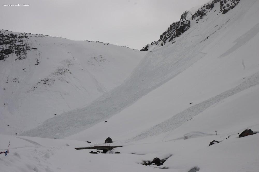 Avalanche Maurienne, secteur Grand Galibier, Plan Lachat ; Pointe du Vallon ; RD 902 - Photo 1
