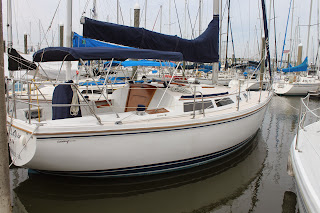 Catalina 30 1990 Sail La Vie:  New Standing Rigging , Air Condiitioning and A Lot More