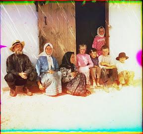 Крестьянская семья (Сергей Михайлович Прокудин-Горский)