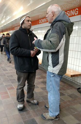 Eric spoke with this Egyptian Muslim man today. Get this: he asked Eric if he had God's Word in Arabic for him to have and read, and Eric just happened to have a copy in his pocket. Very cool! Divine Appointment! Thank You Jesus!