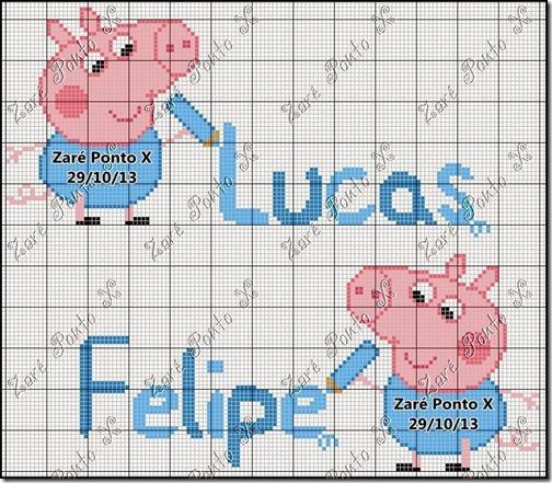 punto de cruz peppa pig (3)