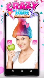 Crazy Hair Photo Editor - náhled