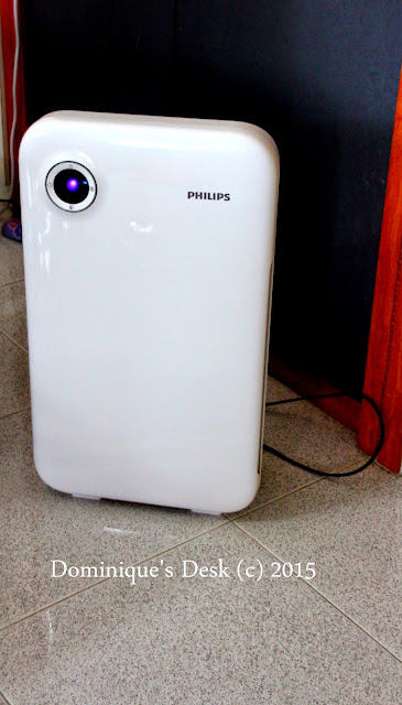 Our trusty Philip Air Purifier