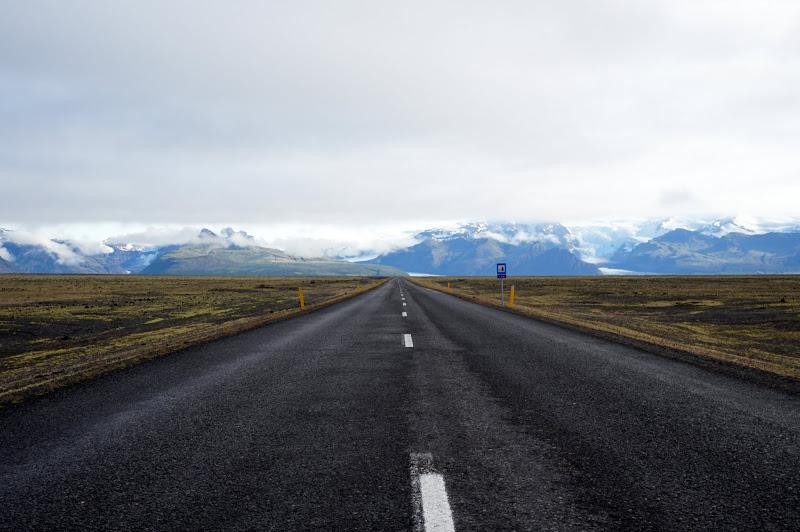 DSC05242 - 1st road to Vatnajökull