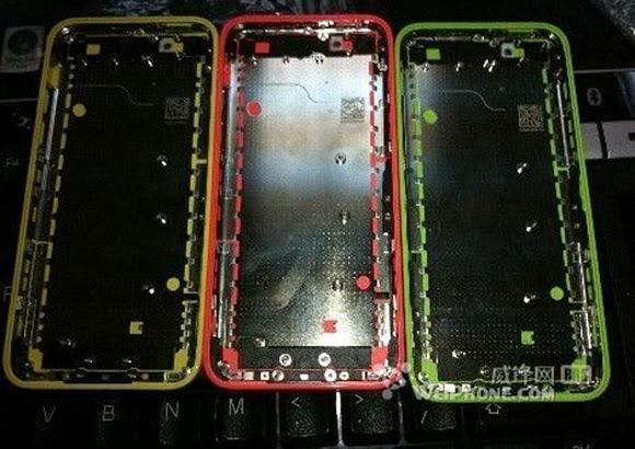 Foxconn làm rò rỉ bộ vỏ nhựa của iPhone giá rẻ 4