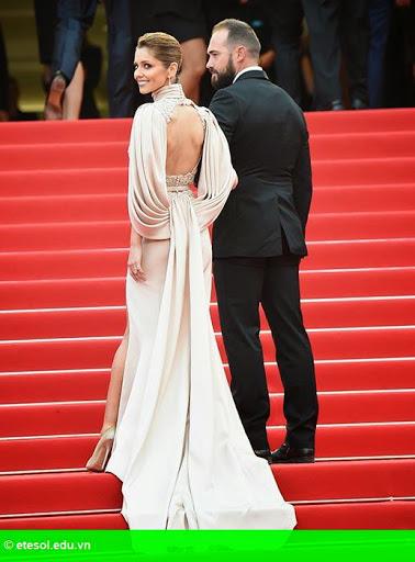 Hình 6:   Cheryl nổi bật ở LHP Cannes