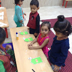 Eid Celebration by Playgroup Section ( 2016-17 ) at Witty World, Bangur Nagar