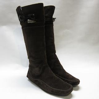 Salvatore Ferragamo Moccasin Boots