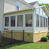 Custom Sunroom side view Yorktown, VA