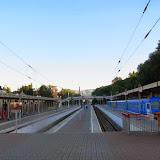 Gare de Kislovosk (kraï de Stavropol), 15 août 2014. Photo : J. Michel