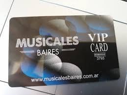 Se parte de los Socios VIP de Musicales BAires