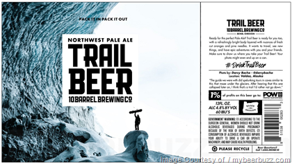 10 Barrel Brewing Trail Beer Cans