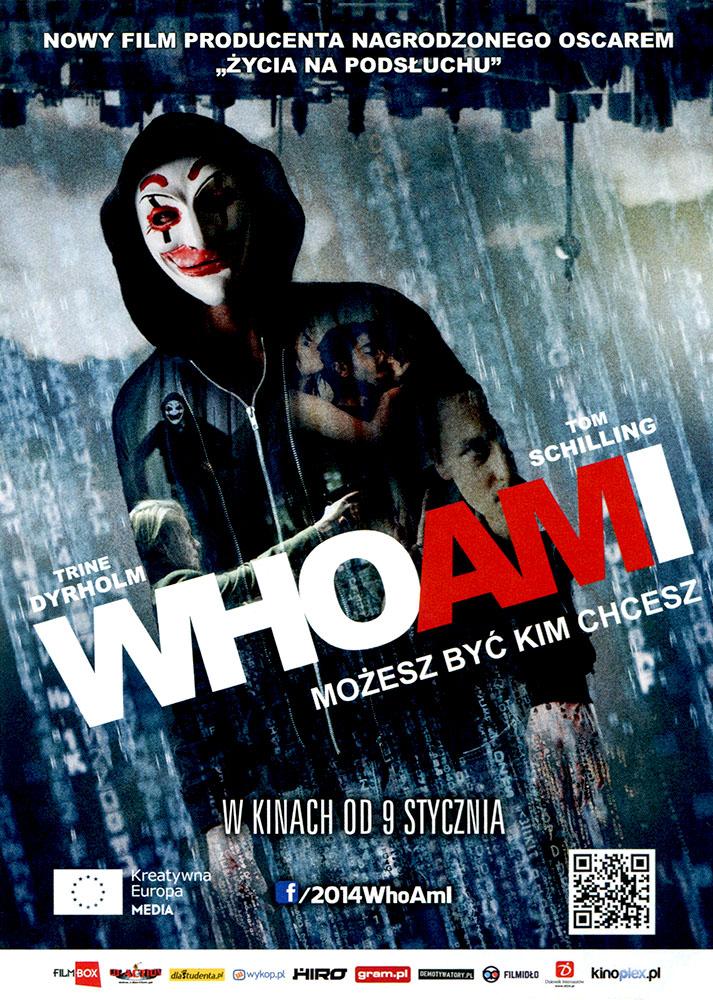 Ulotka filmu 'Who Am I. Możesz Być Kim Chcesz (przód)'