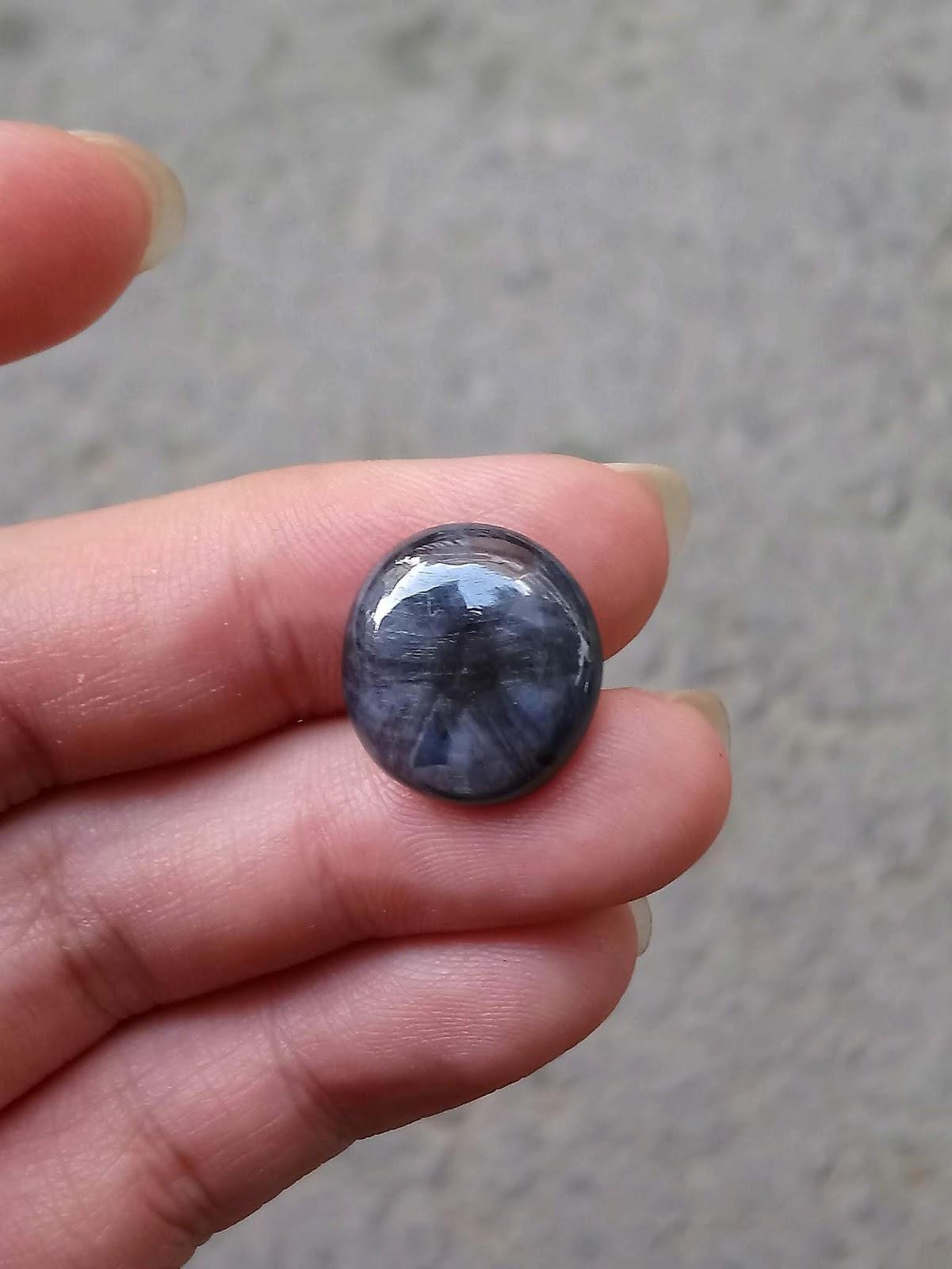 Đá quý Sapphire thiên nhiên, Natural Sapphire hoa thị ( 19/04/20, 01 )