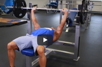 Full-Body Strength Workout bench press