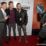 WWW.ENTSIMAGES.COM -      Sam Branson attends  UK Premiere of Flim: The Movie at the 22nd annual Raindance Film Festival in Vue Piccadilly, London October 2nd 2014                                                     Photo Mobis Photos/OIC 0203 174 1069