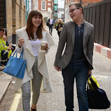 OIC - ENTSIMAGES.COM - Hayley Smith and Dermot McNamara arriving at the Autism's Got Talent Press Call at Pineapple Dance Studios. in London 1st May 2015  Photo Mobis Photos/OIC 0203 174 1069