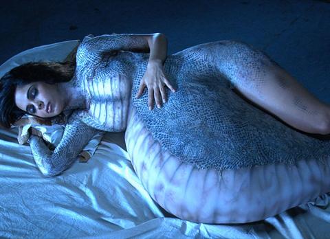Snake Woman Shedding Her Skin, Gods And Goddesses 1