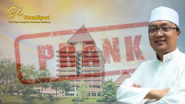 Rektor UI Mundur, Pengamat: Presiden Kena Prank?