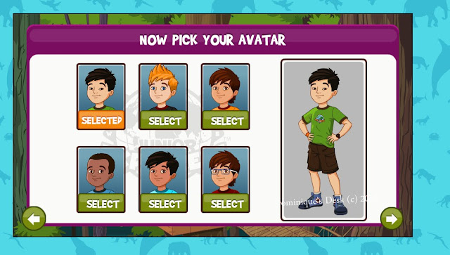 Choosing an Avatar for the mission