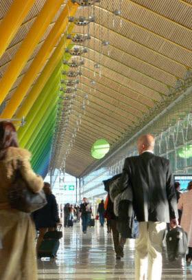 Los pasajeros aumentaron un 5,2% del Aeropuerto de Barajas en mayo