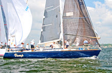 J/44 Vamp sailed by Len Sitar on Vineyard Race