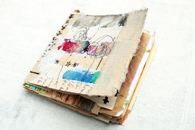 DIY Junk Journal from Scraps