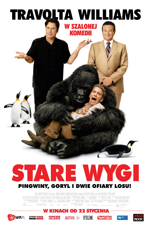 Polski plakat filmu 'Stare Wygi'