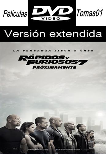 Rápidos y Furiosos 7 (A Todo Gas 7) (V. Extendida) (2015) DVDRip