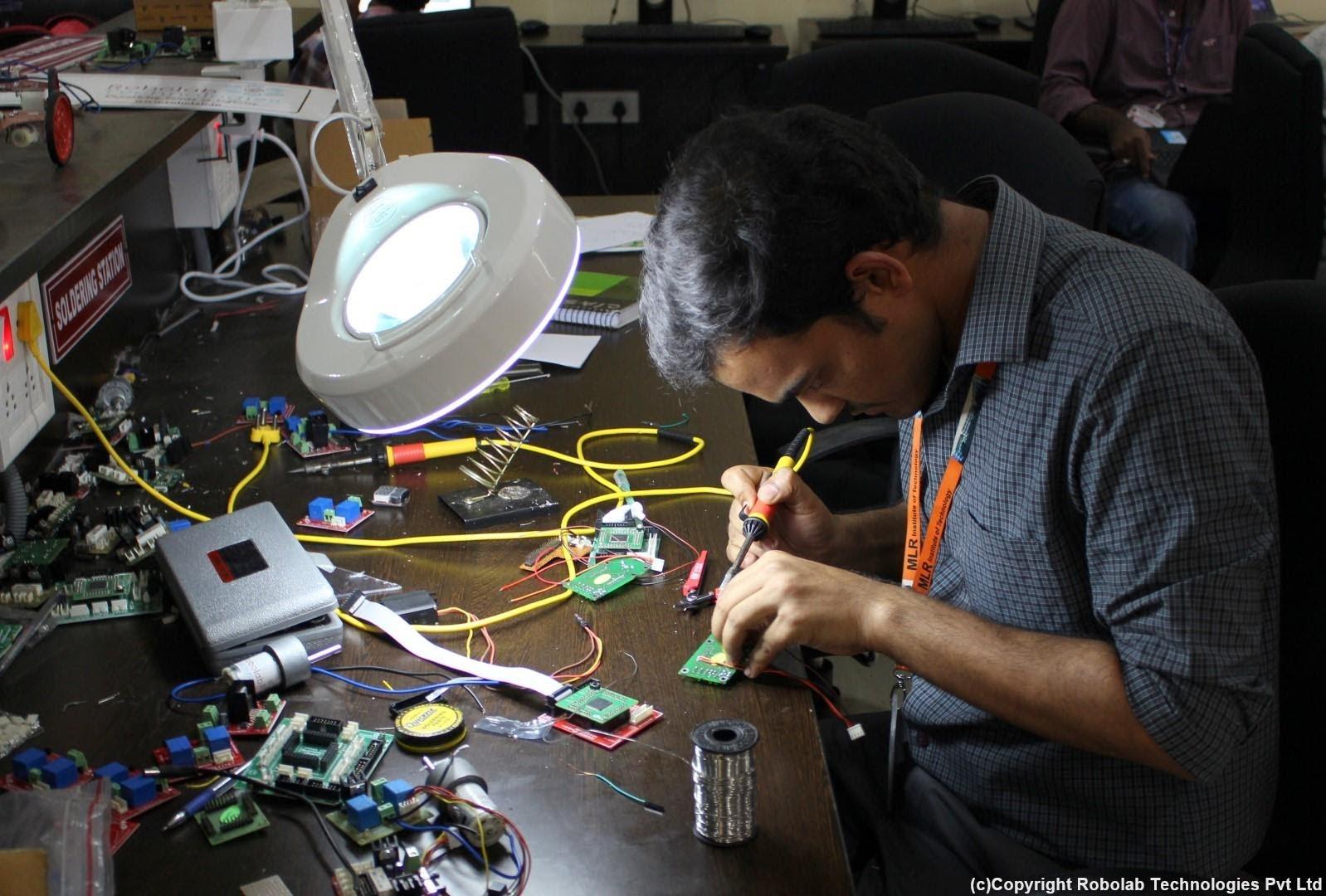 Marri Laxman Reddy Institute of Technology, Hyderabad Robolab (1).jpg