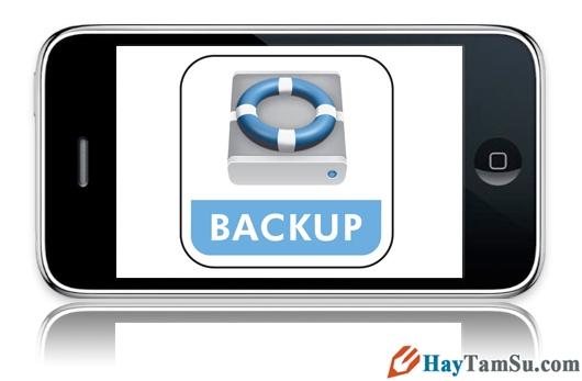 Hướng dẫn cách sao lưu dữ liệu thông qua iTunes và iCloud trên điện thoại iPhone, iPad