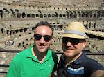Self shot in the Colosseum