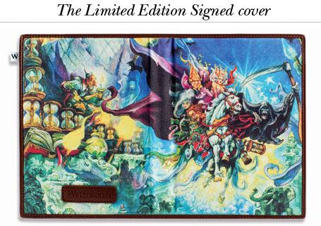 specjalna okładka na Kindle z autografem Terrego