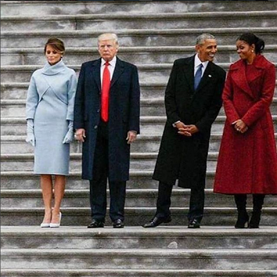 See The Difference Between The Trumps And The Obamas In This Picture