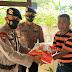 Suasana Haru Warnai Kegiatan Anjangsana Batalyon C Pelopor Dalam Rangka HUT ke-75 Korps Brimob Polri