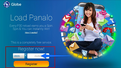 Globe Load Panalo Registration