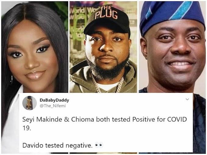 Coronavirus !! Is Davido positive or negative