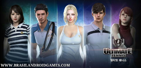 Ultimate Tennis Revolution Imagem do Jogo