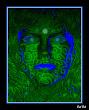 Green Face Girl