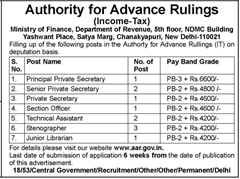 Authority for Advance Rulings Advertisement 2016