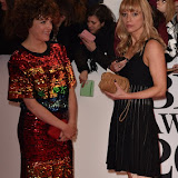 OIC - ENTSIMAGES.COM - Annie Mac and Sara Cox at the  The BRIT Awards 2016 (BRITs) in London 24th February 2016.  Raymond Weil's  Official Watch and  Timing Partner for the BRIT Awards. Photo Mobis Photos/OIC 0203 174 1069