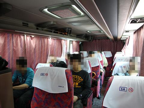 中国バス「メイプルハーバー」  ・912 車内 その1