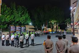 Kapolres Lumajang Pimpin Apel Pengamanan Malam Takbir Hari Raya Idul Adha 1442 H