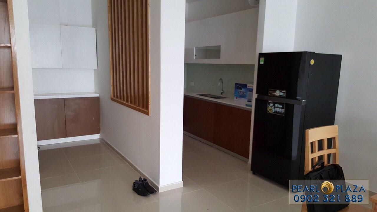 Khu vực bếp căn hộ cho thuê Pearl Plaza