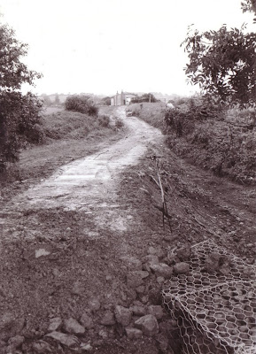 The footpath is coming along......   Date 1993?  Photo: Alan Taylor