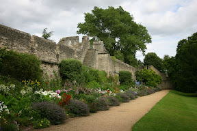 Oxford city wall in New College
